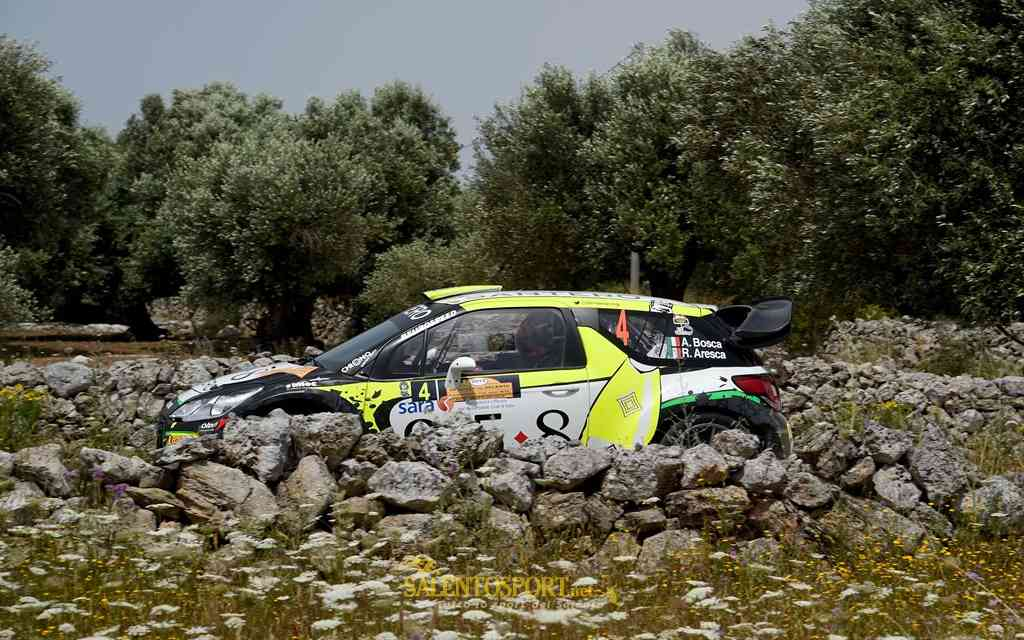 Bosca-Aresca (M.Bettiol) Rally del Salento '15