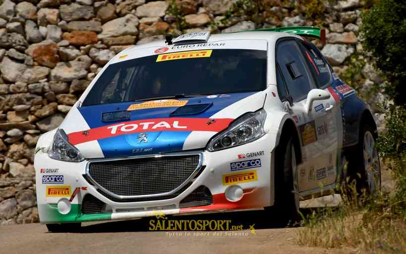andreucci-andreussi-rally-salento-2017-foto m. Bettiol