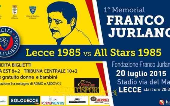 Memorial Franco Jurlano 20.07.15
