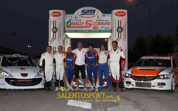 rally 5 comuni 2015 podio