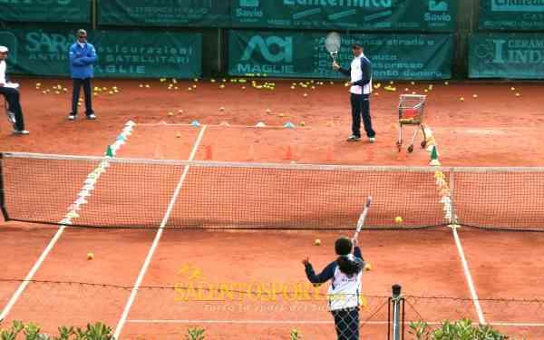 tennis maglie