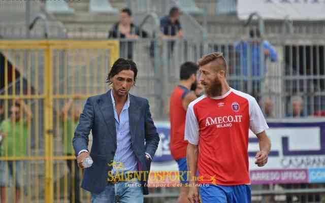 Gianni Massa e Luca Rosciglione - Casarano-Leverano 4-2 270915 @SS-E. Passeri