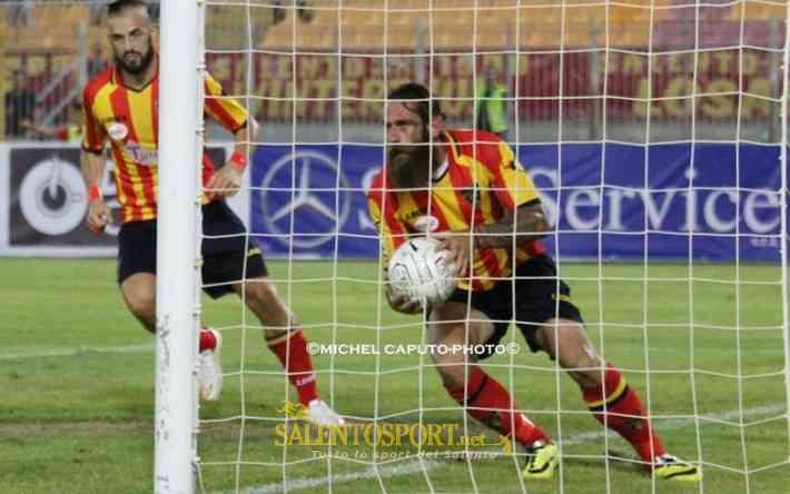 moscardelli gol vs andria 060915 foto michel caputo