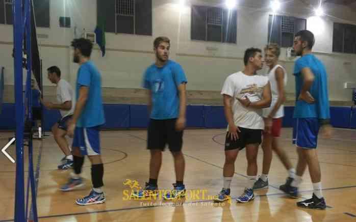 salento best volley galatina allenamento