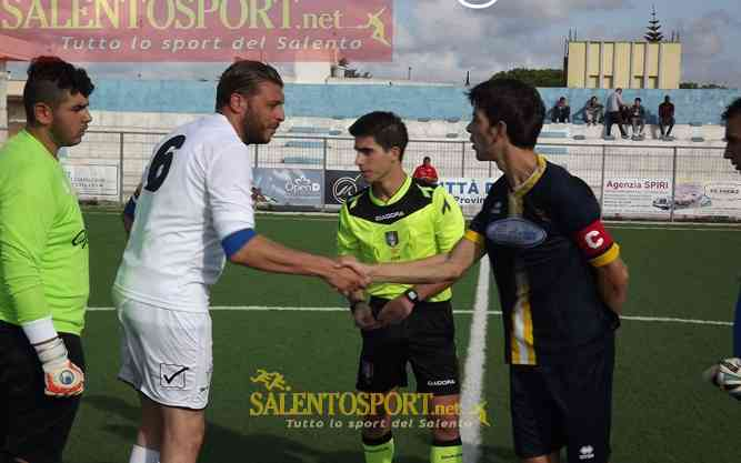 atletico racale-taviano i capitani - @SalentoSPort/D. Palama'