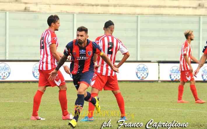 Genchi segna il secondo gol 04.10.15 - @SS/Capriglione