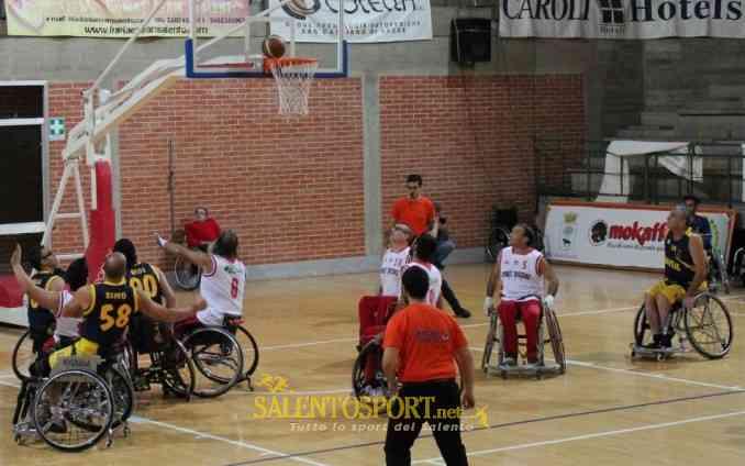 lupiae team basket in carrozzina