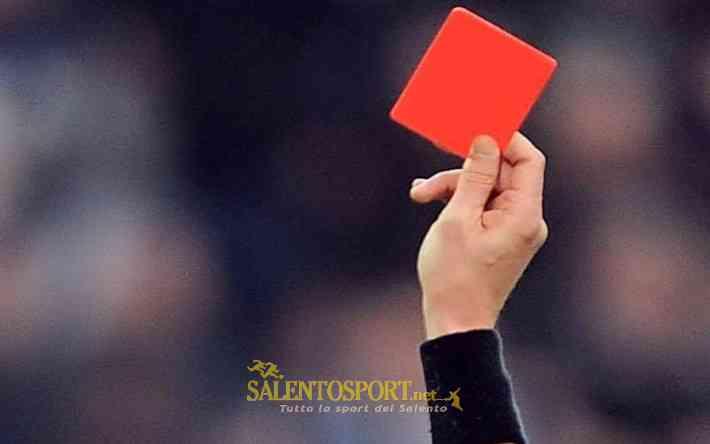 rosso espulsione giudice sportivo