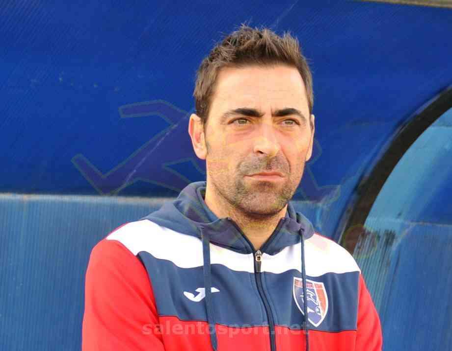 M. Cazzarò, all. Taranto (@F. Capriglione per Salento Sport)