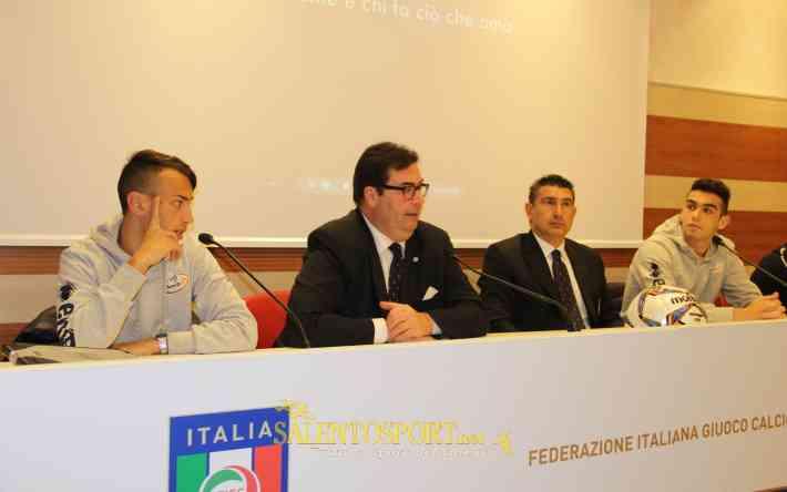 Conferenza stampa rappresentativa SerieD