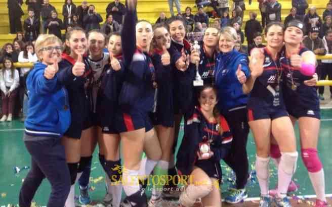 nike volley lecce under 16 campione provnciale 2016