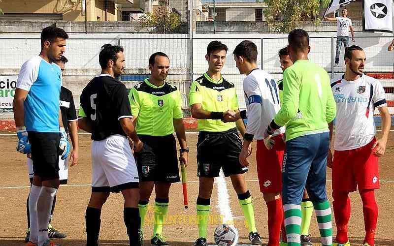 Il sig. Natilla di Molfetta per il big-match di Promozione (@P. Valente)