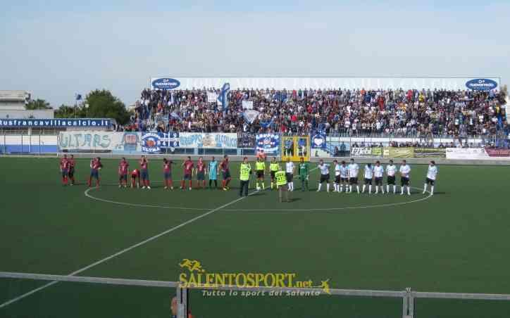 Calcio d'inizio tra Virtus Francavilla C. e Picerno (@SalentoSport.net)