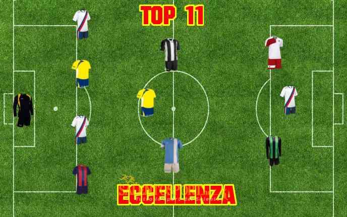 La TOP 11 di Eccellenza