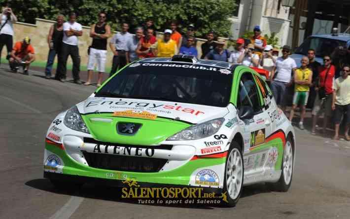 Cavallini-Farnocchia (M.Bettiol) Rally del Salento '10