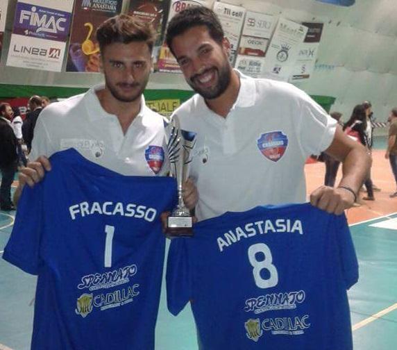 Fracasso e Anastasia Volley Casarano
