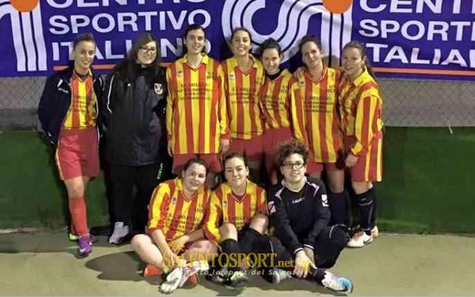 sanarica calcio a 5 femminile 15-16