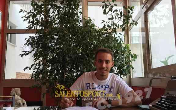 Garcia, centrocampista del Taranto (@Tarantofc.it)
