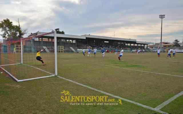 Casarano-Leverano 4-2 270915 @SS-E. Passeri gol tedesco
