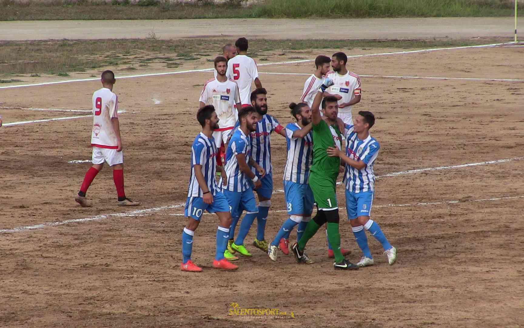 Caroppo (Otranto), il portiere goleador (@Tutto USD Avetrana)