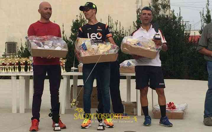 "Ciclismo podio ""Memorial Renato De Francesco"""