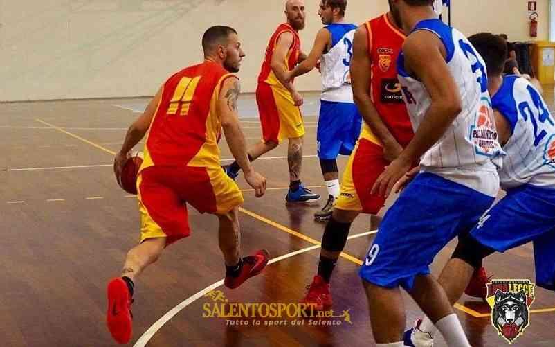 Lupa Lecce Basket ph Delle Rose