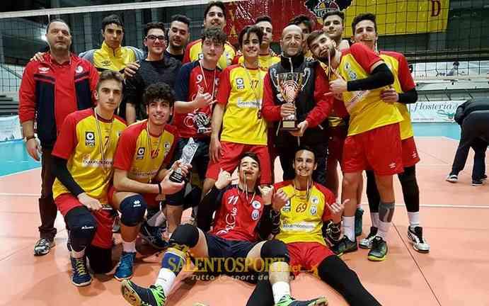 Volley under 18 maschile e under 16 femminile alessano for Piscina e maschile o femminile