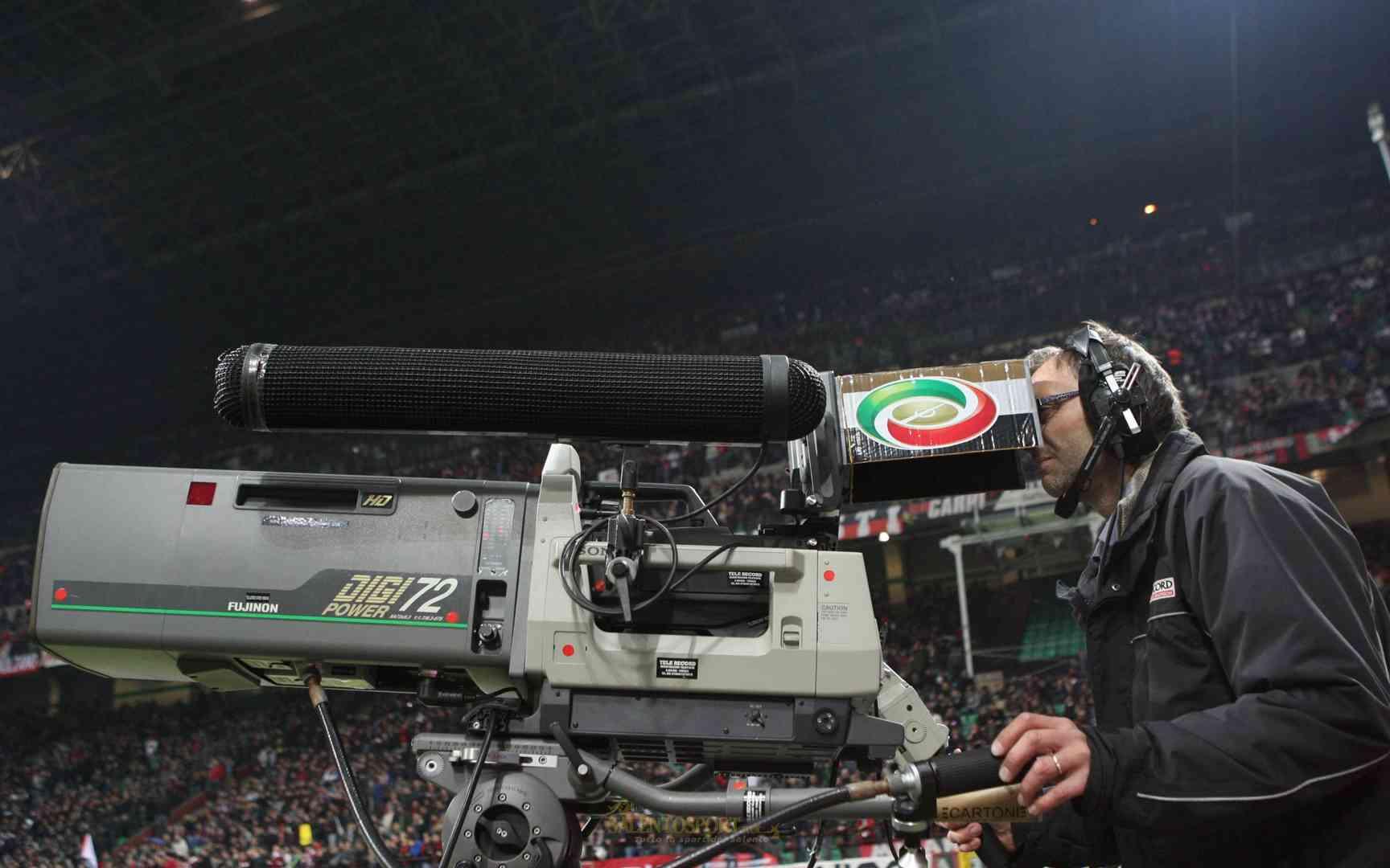 telecamera-stadio anticipi posticipi tv