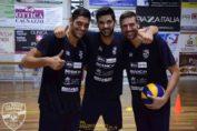 volley-leverano-Alessandro Orefice, Alexander Tusch e Marco Serra