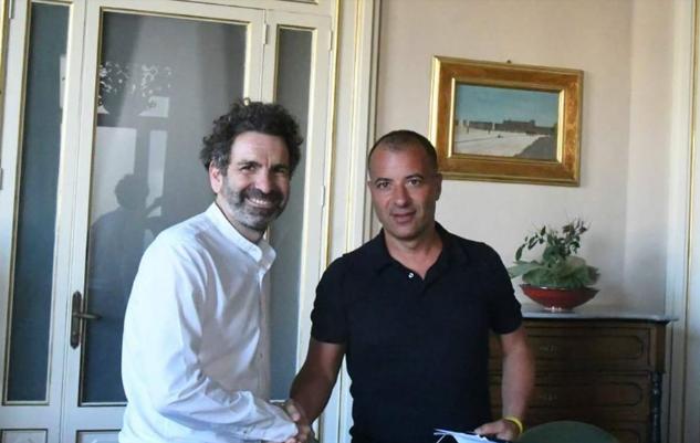 """LECCE – Il """"Via del Mare"""" in uso alla società per 10 anni. Il sindaco Salvemini: """"Si apre una nuova stagione per lo stadio"""""""
