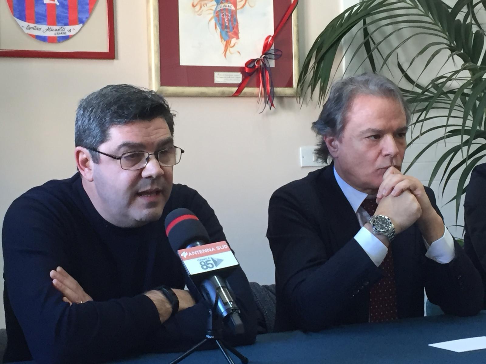 Antonio Filograna Sergio e Giamperio Maci