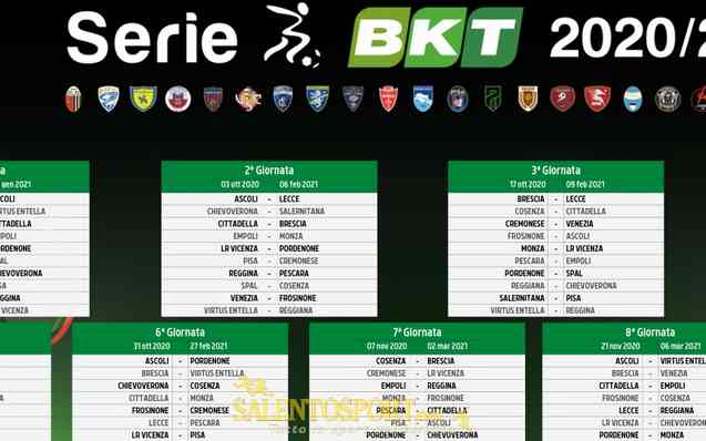 Classifica Mondiali 2021 Calendario SERIE B – Il calendario completo 2020/21 • SalentoSport
