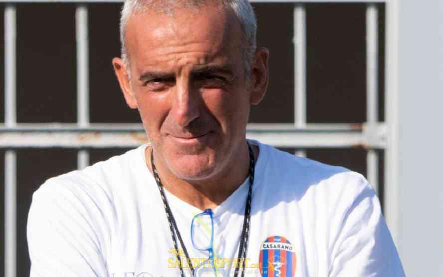 """CASARANO – Feola: """"La classifica? Mi interessava la reazione della squadra, che c'è stata"""""""