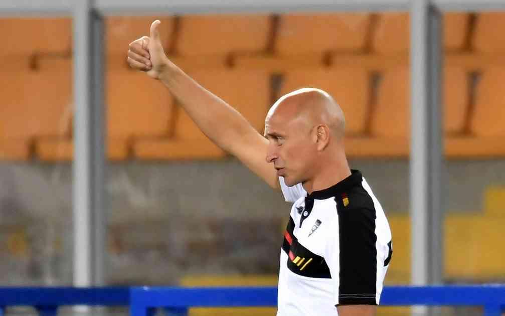 """LECCE – Corini si gode la prima vittoria 'sporca': """"Gare come queste possono rendere vincente una buona squadra"""""""